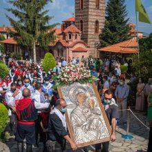Φωτογραφίες από τo σημερινό εορτασμό στην Ιερά Μονή Κοιμήσεως της Θεοτόκου στο Μικρόκαστρο του Δήμου Βοΐου