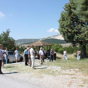 Πραγματοποιήθηκε, χθες Κυριακή 16/8, η εκδήλωση Τιμής και Μνήμης που διοργανώθηκε από την ΠΕΑΕΑ-ΔΣΕ Παράρτημα Κοζάνης και την ΚΟ Καμβουνίων του ΚΚΕ, στο μνημείο Πεσόντων στη θέση Σταυρός μεταξύ Τρανοβάλτου και Μικροβάλτου του Δήμου Σερβίων
