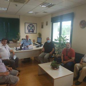 Η Συντονιστική Επιτροπή Αγώνα Κοζάνης επισκέφθηκε τον Γενικό Περιφερειακό Αστυνομικό Διευθυντή Δυτικής Μακεδονίας Ταξίαρχο κ. Θεόδωρο Κεραμά