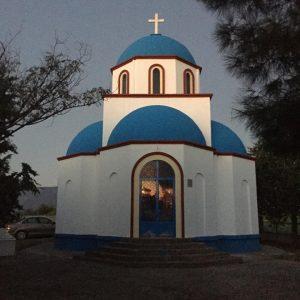 kozan.gr: Μια εκκλησία που τα χρώματά της παραπέμπουν σε νησί