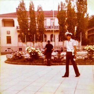 kozan.gr: Κεντρική πλατεία Κοζάνης, το έτος 1975