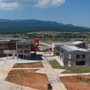 kozan.gr: Σημερινή (23/8), λήψη, από την ανεγειρόμενη Πανεπιστημιούπολη Δυτικής Μακεδονίας, στη θέση ΖΕΠ, στην Κοζάνη (Βίντεο)