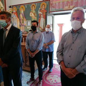 Στην Κοινότητα του Αγίου Κοσμά ο Δήμαρχος Γρεβενών κ.Γιώργος Δασταμάνης για τον Εορτασμό του Πατροκοσμά