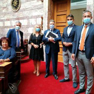 Ο Βουλευτής ΠΕ Κοζάνης και Γραμματέας της Επιτροπής Δημόσιας Διοίκησης, Δικαιοσύνης και Δημόσιας Τάξης, Στάθης Κωνσταντινίδης, για την κατασκευή νέου φράχτη στον Έβρο