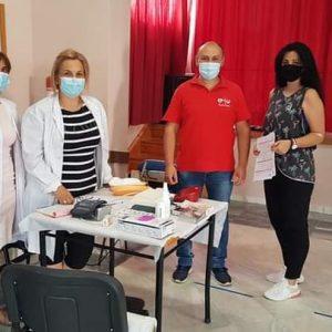 "kozan.gr: ""Σταγόνα Ελπίδας"": Με μεγάλη προσέλευση πραγματοποιήθηκε η αιμοδοσία, σήμερα 24/8, στη Λευκοπηγή  (Φωτογραφίες)"