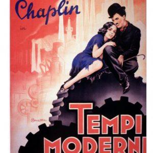 """Με την ταινία """"Μοντέρνοι καιροί"""" του Τσάρλι Τσάπλιν  συνεχίζονται οι προβολές ταινιών της Βιβλιοθήκης  την Πέμπτη 27 Αυγούστου στις 9.30 μ.μ."""
