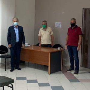 Το Μελισσοκομικό Σύλλογο Π.Ε. Κοζάνης επισκέφτηκε ο Βουλευτής Ν. Κοζάνης Γιώργος Αμανατίδης