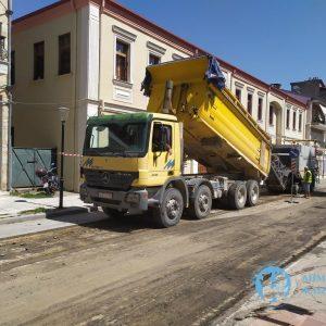 Συνεχίζονται οι εργασίες ασφαλτοστρώσεων στην πόλη της Φλώρινας