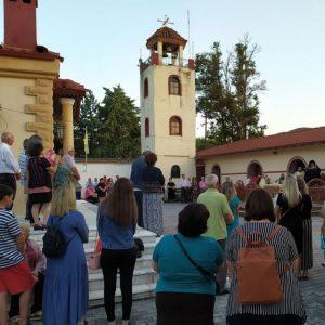 Τελέστηκε ο πανηγυρικός Αρχιερατικός Εσπερινός στην Ι. Μονή Παναγίας Ζιδανίου, παραμονή της εορτής του Γενεσίου της Θεοτόκου (Φωτογραφίες)
