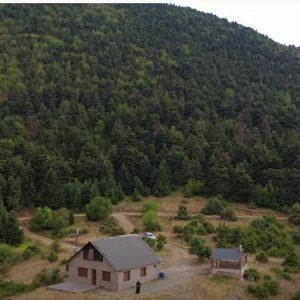 Στο Ορεινό Καταφύγιο στο Κτένι Κοζάνης  – Εικόνες από το drone του tovoion.com