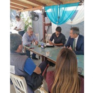 Επίσκεψη του Βουλευτή ΠΕ Κοζάνης Στάθη Κωνσταντινίδη στους Πύργους και στο Μεσόβουνο Εορδαίας