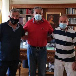 Επίσκεψη του κ. Κυριάκου Μιχαηλίδη στον Αντιπεριφερειάρχη Κοζάνης κ. Γρηγόρη Τσιούμαρη
