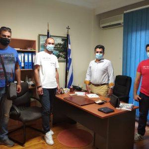 Συνάντηση του Σωματείου Πυροσβεστών Δ. Μακεδονίας με το βουλευτή Καστοριάς Ζήση Τζηκαλάγια