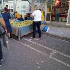kozan.gr: Σημερινές (12/9) εικόνες από τη λαϊκή αγορά της Κοζάνης – Θερμομετρήσεις κι έλεγχος για χρήση μασκών από τη Δημοτική Αστυνομία Κοζάνης (Bίντεο & Φωτογραφίες)