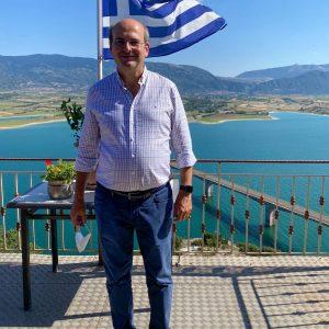 """O K. Xατζηδάκης, μέσω του προσωπικού του προφίλ στο facebook, για την επίσκεψη του στην Κοζάνη: """"Γύρω από το φράγμα Πολυφύτου μπορεί να υπάρξει τουριστική ανάπτυξη"""""""
