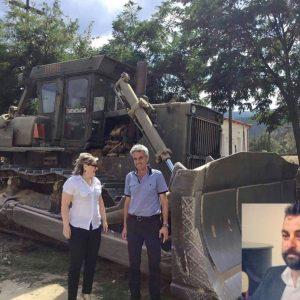 Αθηνά Τερζοπούλου: Με πρωτοβουλία του ΔημοτικούΣυμβούλου της παράταξής μας Στέφανου Κωτσίδη, διανοίχθηκαν  για τους κτηνοτρόφους κοινόχρηστοι δρόμοι και εκτάσεις περίπου 10.000 μέτρων