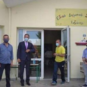 Στον αγιασμό του Ειδικού Δημοτικού Σχολείου στον Τετράλοφο παρέστη ο βουλευτής ΠΕ Κοζάνης Στάθης Κωνσταντινίδης (Φωτογραφίες & Βίντεο)