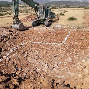 kozan.gr: Ξεκίνησε να χτίζεται και το 3ο σπίτι στο νέο οικισμό της Ποντοκώμης (Φωτογραφίες)