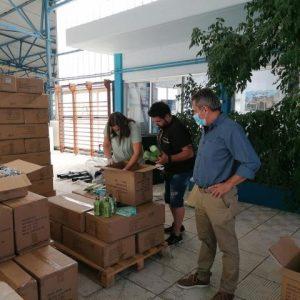 Παραδόθηκαν 4126 ατομικά δοχεία νερού στα δημοτικά σχολεία του Δήμου Κοζάνης (Φωτογραφίες  & Βίντεο)