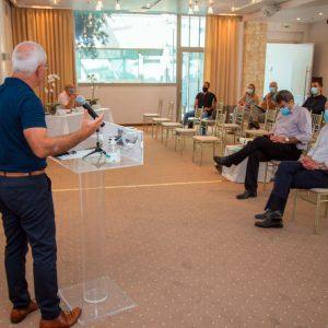 Πραγματοποιήθηκε την Πέμπτη 17/9 η εκδήλωση της Εταιρείας Τουρισμού με σκοπό την γνωστοποίηση των αποτελεσμάτων του έργου Culture Plus Interreg IPA CBC