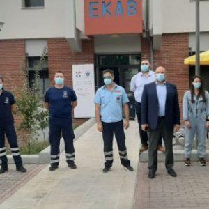 Κοζάνη-Πρ. ΕΚΑΒ: Συντονισμός υπηρεσιών – Συνεργασία με το Πανεπιστήμιο για πιλοτικό πρόγραμμα