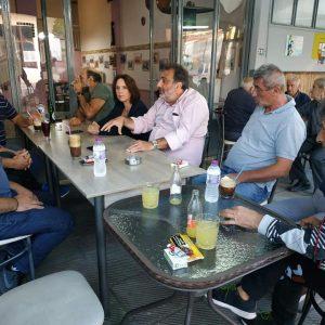Συναντήσεις, παρουσία της βουλευτή Κ. Βέττα, σε Τετράλοφο & Αγ. Δημήτριο, για την Ν.Ε. του ΣΥΡΙΖΑ – Προοδευτική Συμμαχία και συζητήσεις για θέματα απολιγνιτοποίησης κι ανεργίας (Φωτογραφίες)