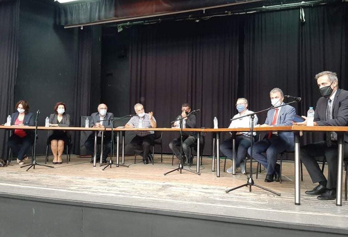 Πραγματοποιήθηκε στο Πνευματικό Κέντρο Βελβεντού σύσκεψη για τα κατεπείγοντα προβλήματα του αγροτικού χώρου της περιοχής εξαιτίας της χαλαζόπτωσης και των θεομηνιών