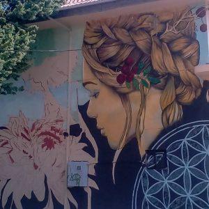 "kozan.gr: Oλοκληρώθηκε το όμορφο γκράφιτι στο κτήριο του πρώην ΟΣΕ Κοζάνης, στα νέα γραφεία του συλλόγου εθελοντών αιμοδοτών αιμοπεταλιοδοτών Κοζάνης ""Σταγόνα Ελπίδας""  (Φωτογραφία)"