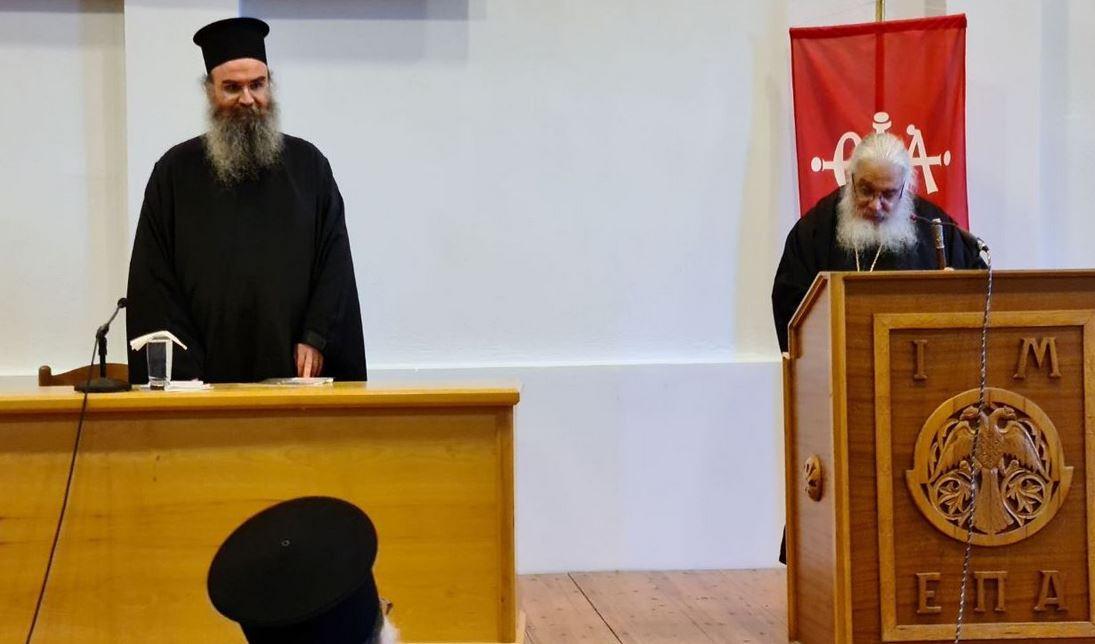Ομιλητής στην ετήσια Σύναξη των Κατηχητών και των Στελεχών της Ιεράς Μητροπόλεως Εδέσσης, Πέλλης και Αλμωπίας, ήταν ο Πρωτοσύγκελλος της Ιεράς Μητροπόλεως Κοζάνης, Αρχιμανδρίτης Χριστοφόρος Αγγελόπουλος