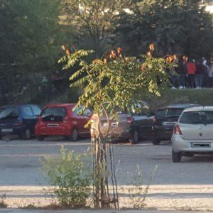 Σχόλιο αναγνώστη στο kozan.gr: Συνωστισμός στο 3ο Λύκειο Κοζάνης στις 8:20 το πρωί