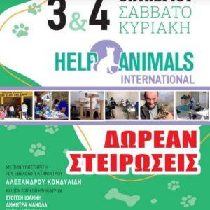 Δωρεάν στειρώσεις το Σαββατοκύριακο 3 και 4 Οκτωβρίου στο Δημοτικό Καταφύγιο Αδέσποτων ζώων Συντροφιάς Εορδαίας