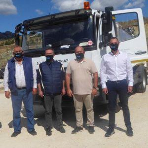 Ενισχύεται κι εκσυγχρονίζεται η ΔΕΥΑ Καστοριάς με τη δωρεά  ενός υπερσύγχρονου αποφρακτικού μηχανήματος από την Εταιρεία TAP