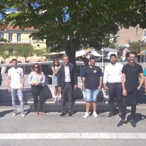 Συναντήσεις του Βουλευτή ΠΕ Κοζάνης Στάθη Κωνσταντινίδη με τις ΟΝΝΕΔ Κοζάνης και Εορδαίας.
