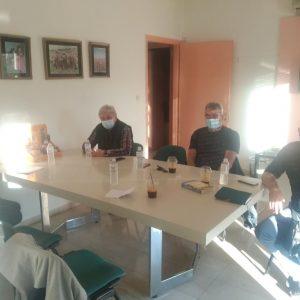 Αντιπροσωπεία του ΚΚΕ συναντήθηκε με το Δ.Σ. του Αναγκαστικού Συνεταιρισμού Κροκοπαραγωγών στην έδρα του Συνεταιρισμού