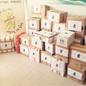 """Δημοτική  Κίνηση  """"Κοζάνη – Τόπος να ζεις"""": Αποστολή ειδών πρώτης ανάγκης στους πληγέντες της Καρδίτσας"""