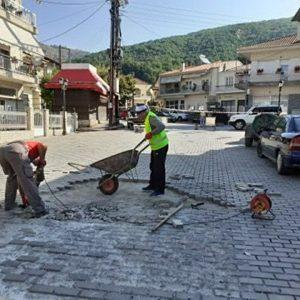 Καθημερινές παρεμβάσεις με αμείωτους ρυθμούς  σε όλα τα χωριά και τις περιοχές του Δήμου Καστοριάς