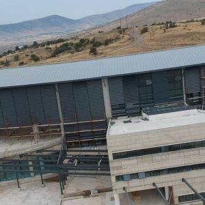 kozan.gr: Σημερινή (4/10), λήψη, από την ανεγειρόμενη Πανεπιστημιούπολη Δυτικής Μακεδονίας, στη θέση ΖΕΠ, στην Κοζάνη (Βίντεο)