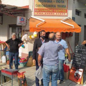 Επίσκεψη του Βουλευτή ΠΕ Κοζάνης Στάθη Κωνσταντινίδη στο Τσοτύλι του Δήμου Βοΐου
