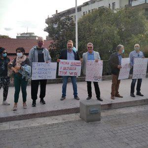 kozan.gr: Κοζάνη: Κρατώντας χάρτινα πλακάτ ζήτησαν την καταδίκη των δολοφόνων του Π. Φύσσα (Φωτογραφίες)