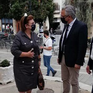 Η Υπουργός Πολιτισμού Μενδώνη Λίνα στο Δημαρχείο Βοΐου στη Σιάτιστα (Βίντεο & Φωτογραφίες)