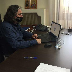 Τηλεδιάσκεψη του Δημάρχου Σερβίων με τον Γ. Στάση και τον Ι. Κοπανάκη για τη συμβολή της ΔΕΗ στην περιοχή
