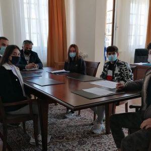 Συνάντηση του Δήμαρχου Βοΐου με εκπροσώπους της μαθητικής κοινότητας