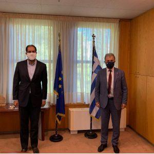 Eνημέρωση από το βουλευτή Κοζάνης Γ. Αμανατίδη σε σχέση με την παροχή Βεβαίωσης Νόμιμης Λειτουργίας των Συνεργείων Οχημάτων