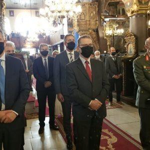 kozan.gr: Η σημερινή Επίσημη Δοξολογία στον Ιερό Μητροπολιτικό Ναό του Αγίου Νικολάου, για την 108η επέτειο της απελευθέρωσης της πόλης της Κοζάνης από τον τουρκικό ζυγό (Βίντεο & Φωτογραφίες)