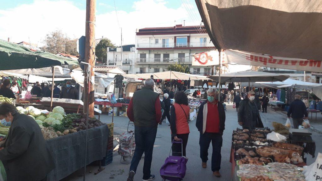 Ενημέρωση για την λειτουργία της λαϊκής αγοράς Πτολεμαΐδας 21-10-2020.