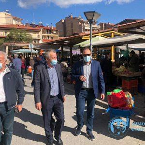 Τον Δήμαρχο Φλώρινας επισκέφτηκαν οι αντιπεριφερειάρχες Γιάννης Κιοσές και Γιώργος Βαβλιάρας