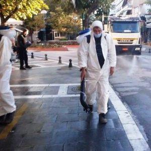 Απολυμάνσεις σε όλους τους κοινόχρηστους χώρους από το Δήμο Εορδαίας