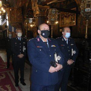 Κάτω από ιδιαίτερες συνθήκες, γιορτάστηκε η «Ημέρα της Αστυνομίας» και του Προστάτη του Σώματος, Αγίου Αρτεμίου στη Περιφέρεια Δυτικής Μακεδονίας – Το μήνυμα Γενικού Περιφερειακού Αστυνομικού Διευθυντή Δυτική Μακεδονίας Θ. Κεραμά (Φωτογραφίες)