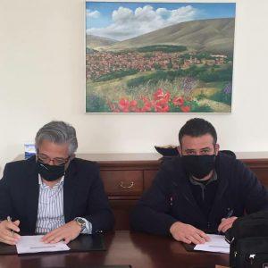 Δήμος Βοΐου: Υπογραφή Σύμβασης για την ανάπλαση του πάρκου στην περιοχή του Αγ. Γεωργίου στον οικισμό της Δαμασκηνιάς