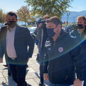 kozan.gr: Έφτασε πριν από λίγο στην Καστοριά ο Υφυπουργός Πολιτικής Προστασίας Ν. Χαρδαλιάς – Θα έχει σύσκεψη, με τοπικούς φορείς, για το θέμα της έξαρσης των κρουσμάτων κορωνοϊού στην Π.Ε. Καστοριάς (Βίντεο)